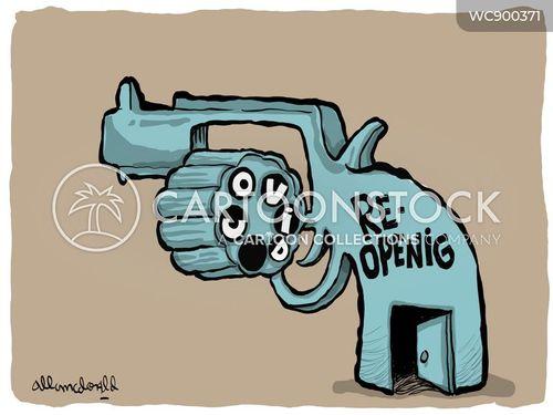 reopened cartoon