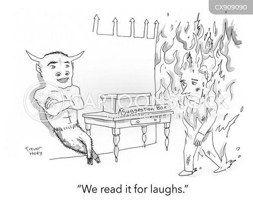 suggests cartoon