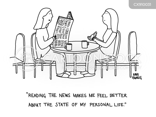 personal life cartoon