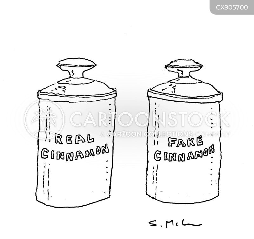 spices cartoon