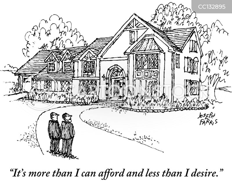 unaffordable cartoon