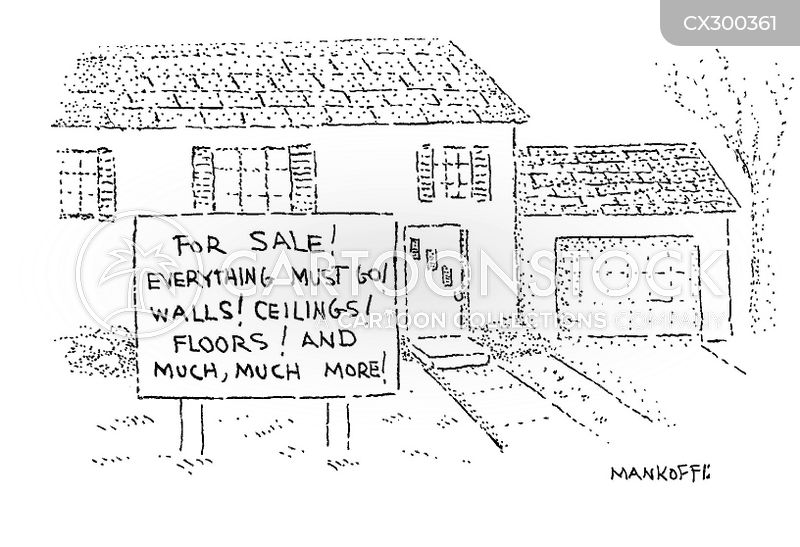 property agent cartoon