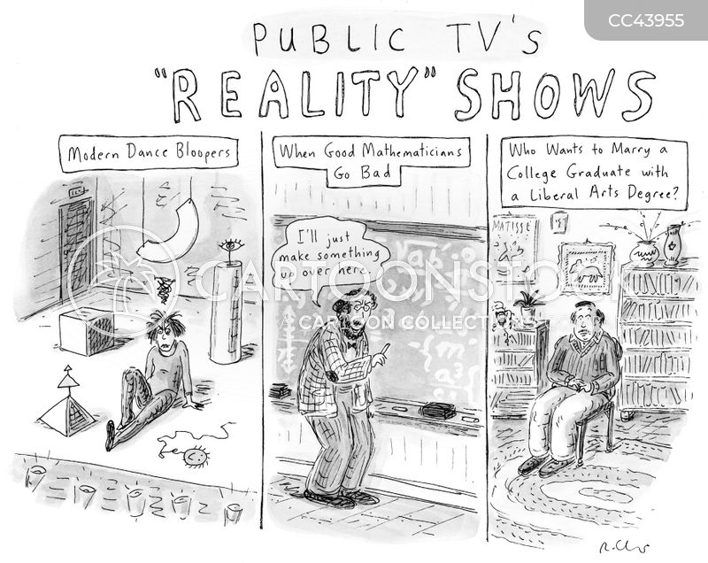 trash television cartoon