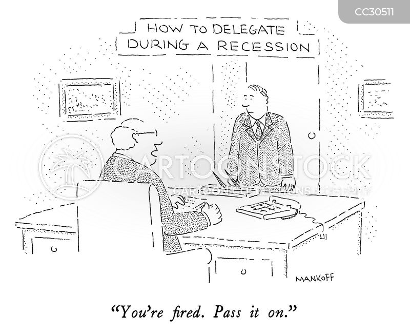 layoff cartoon