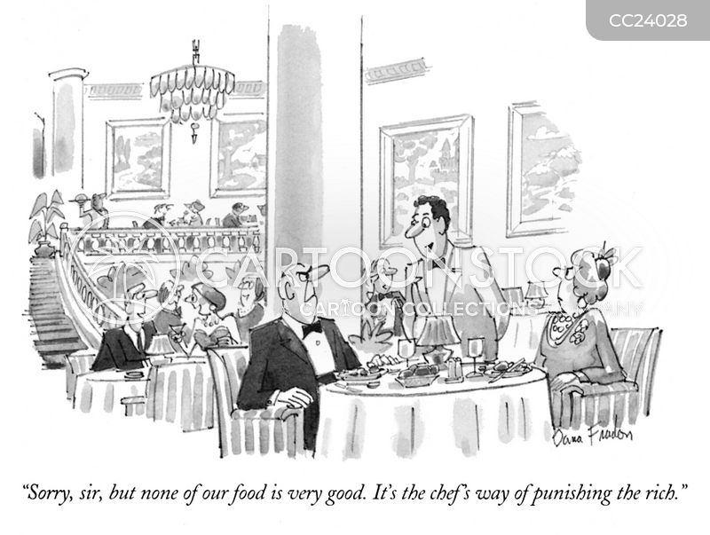 dining cartoon