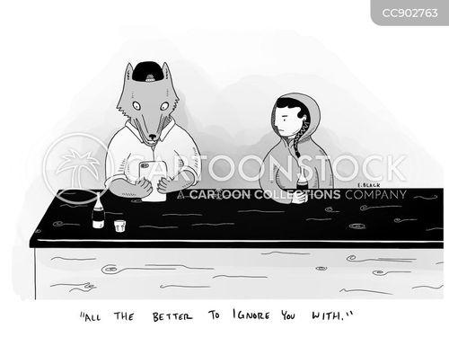 phone addicts cartoon