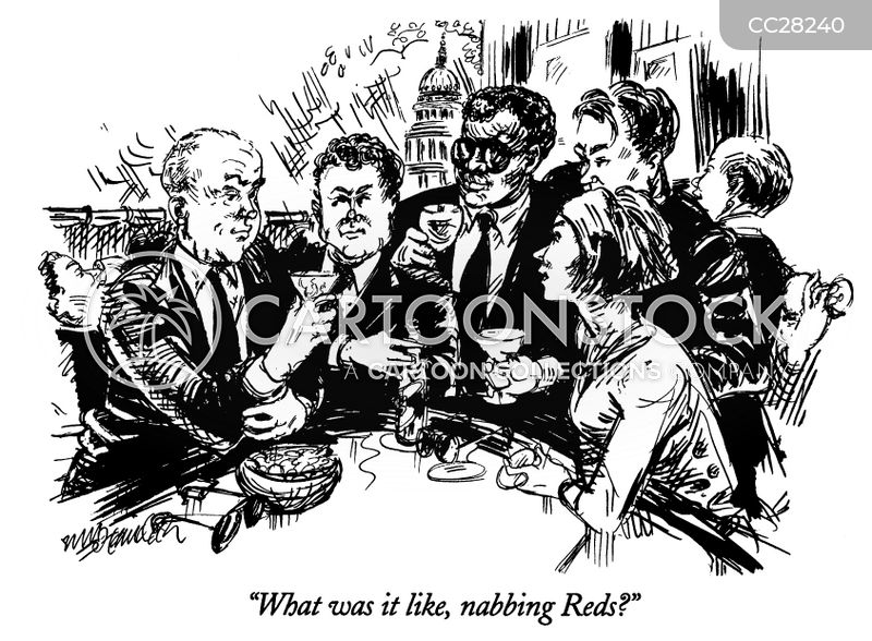 red scare cartoon
