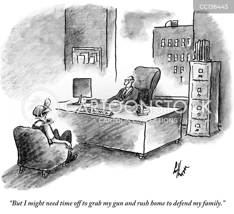 hiring managers cartoon