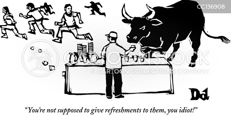 bull cartoon