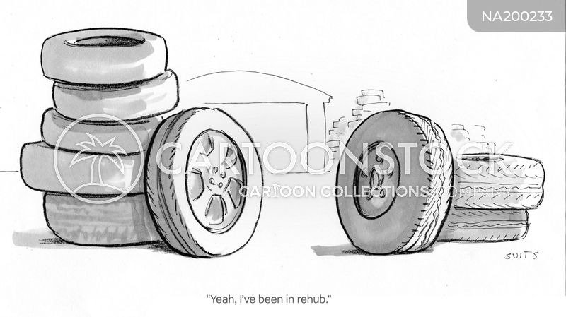 wheel trims cartoon