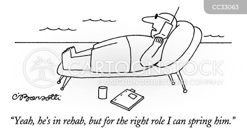 rehab cartoon