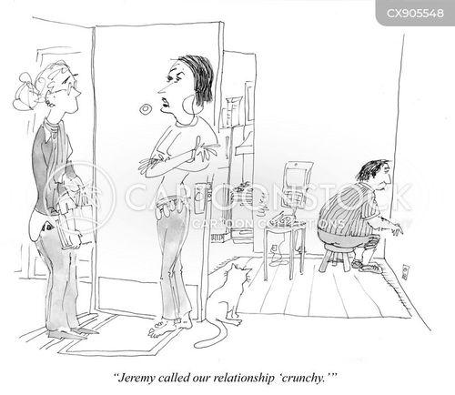 dysfunctional relationship cartoon