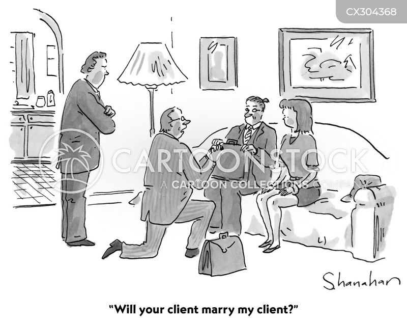 engagement ring cartoon