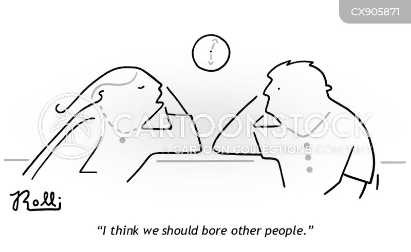boring relationship cartoon