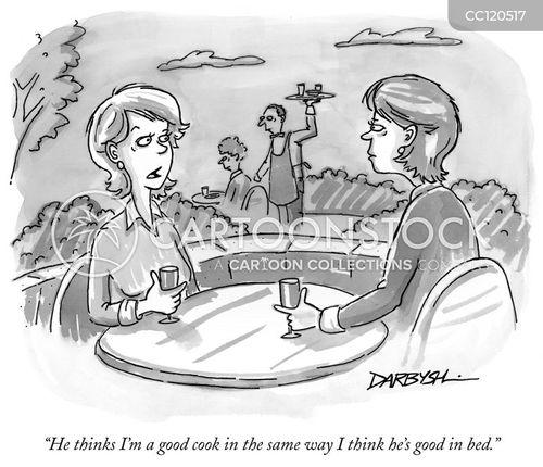 good cooks cartoon