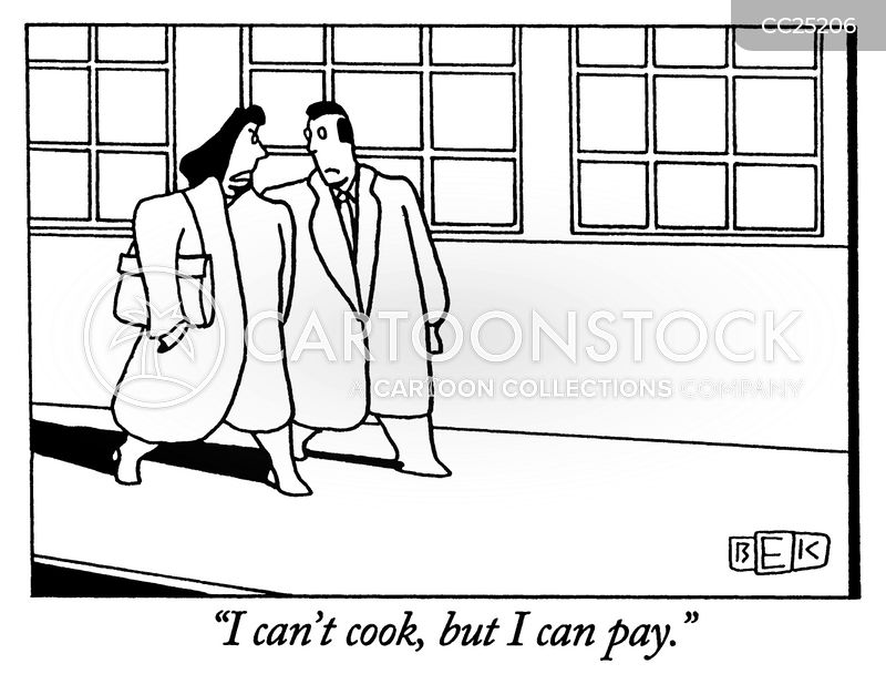 pay cartoon