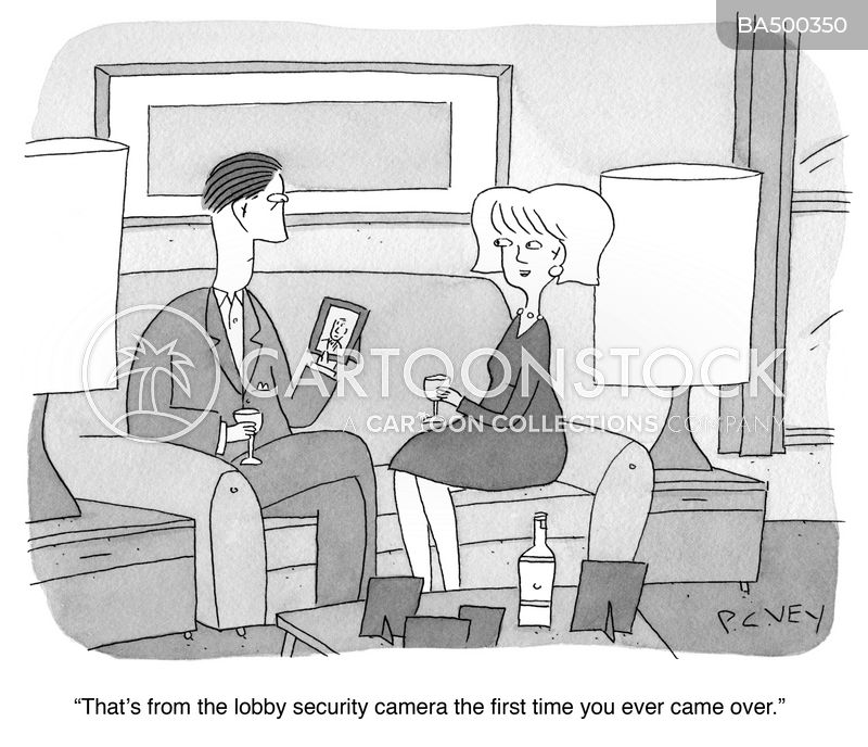 Invasion Of Privacy cartoon