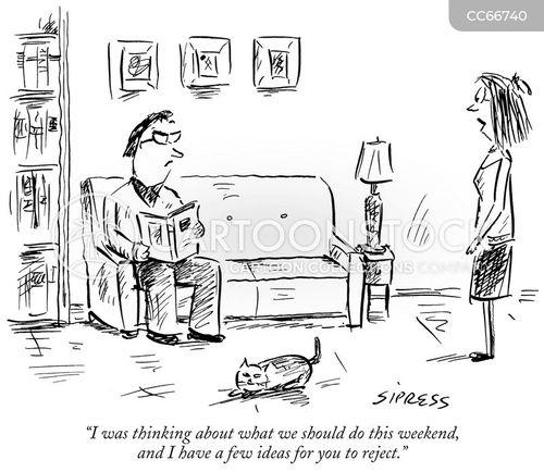 dismissive cartoon