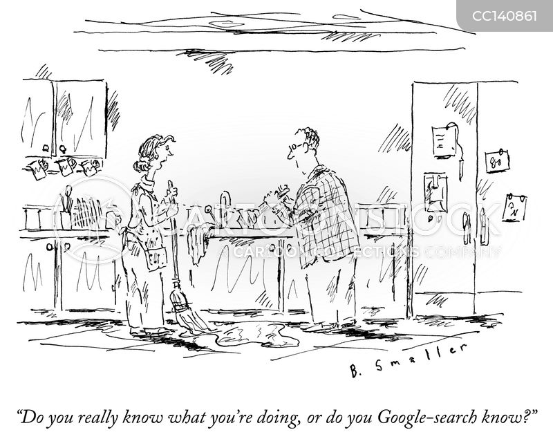 search cartoon