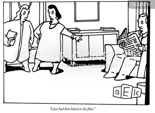 nailed cartoon