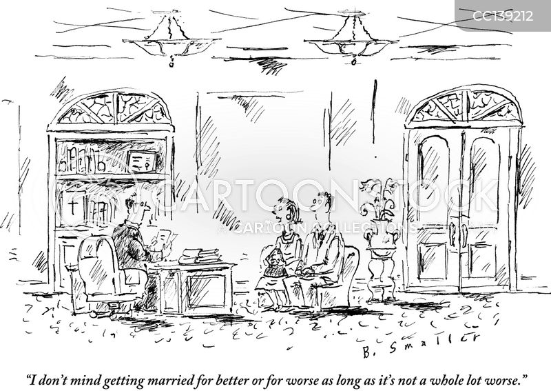brides cartoon