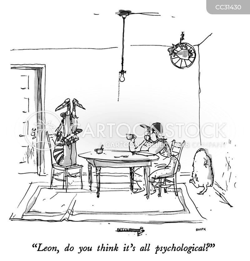Psychological cartoon