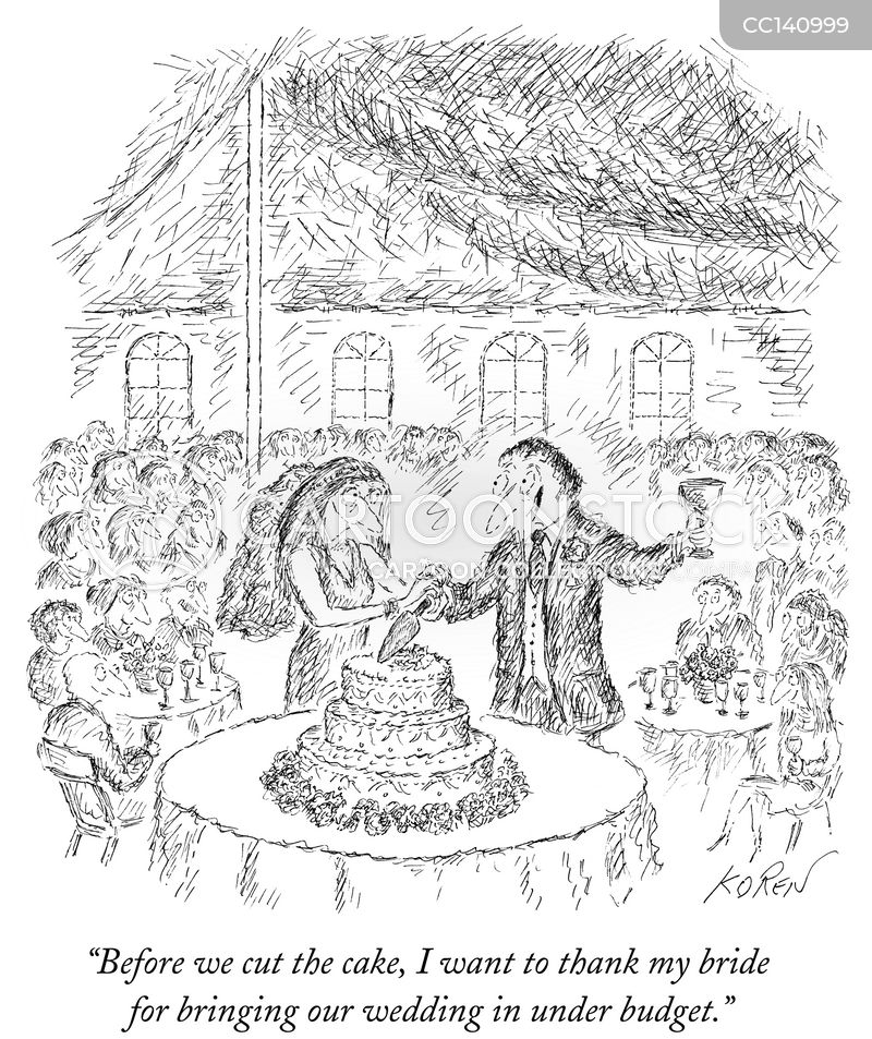 wedding speeches cartoon