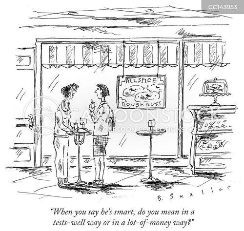 smart cartoon