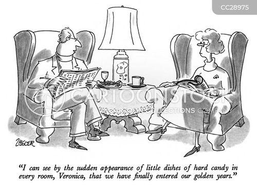golden years cartoon