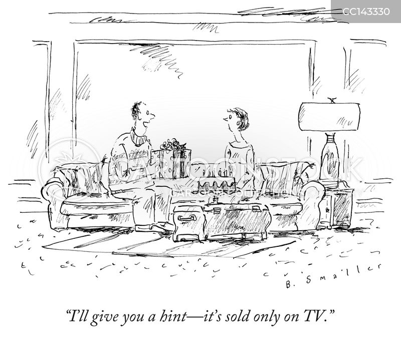 infomercial cartoon