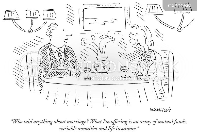 Proposing cartoon