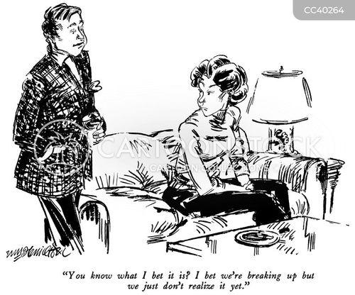 marital difficulties cartoon