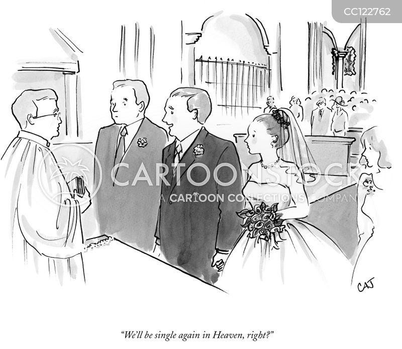 groom cartoon