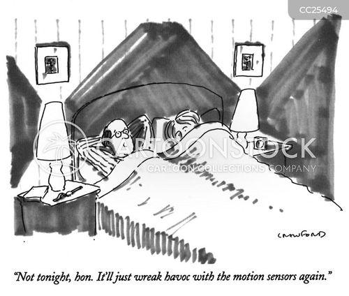 bedroom cartoon