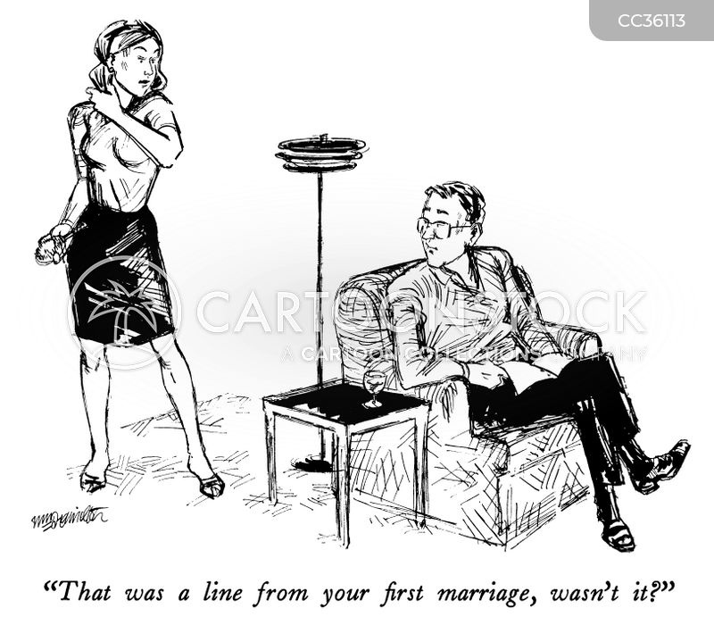 second marriage cartoon