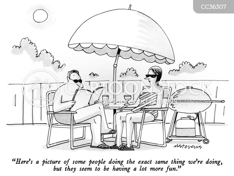 summer holidays cartoon