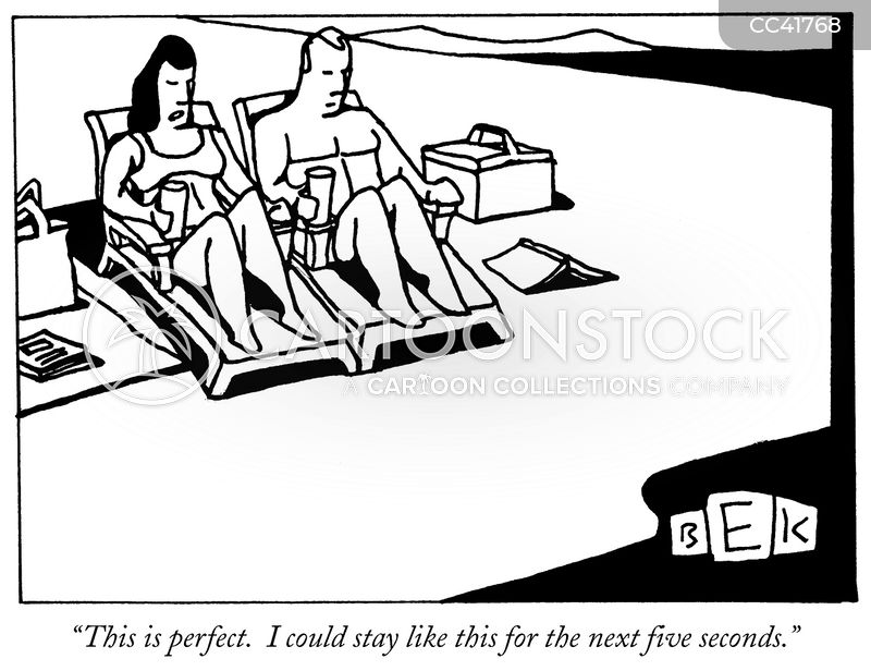 relaxing cartoon
