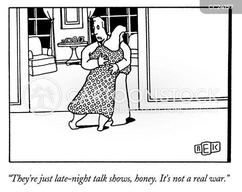 talk show cartoon