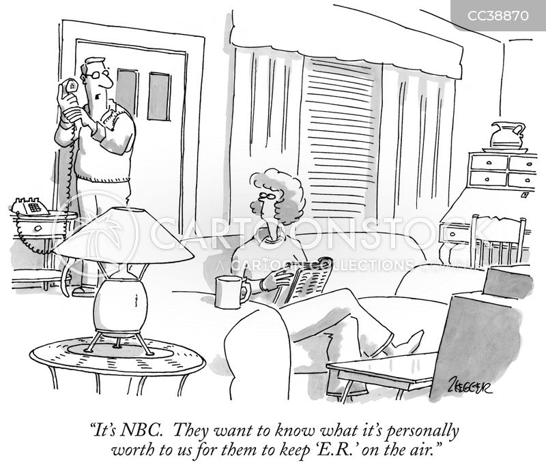 broadcasting cartoon