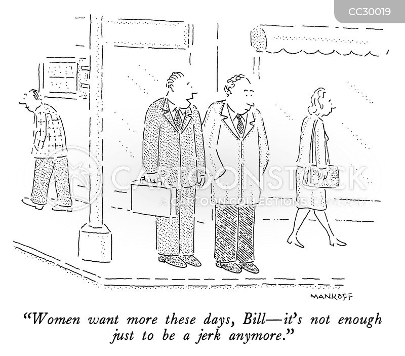 attracting women cartoon