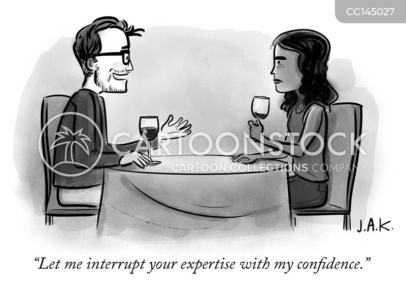 confidence cartoon