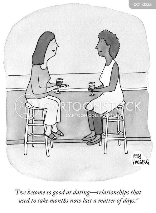single women cartoon