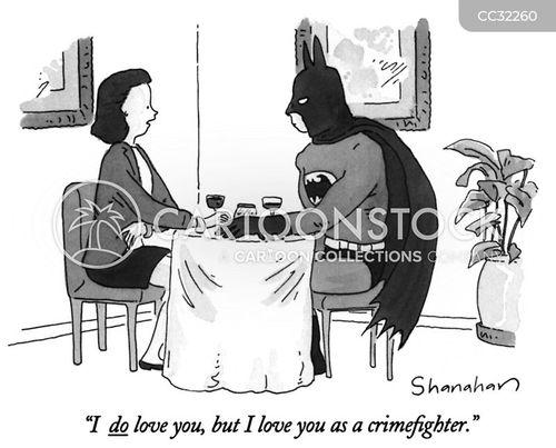 superheros cartoon