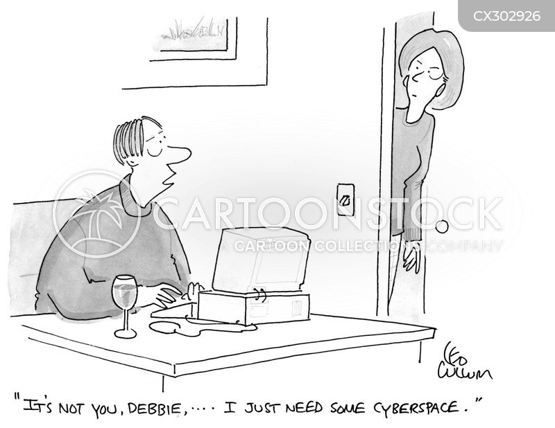 cyberspace cartoon