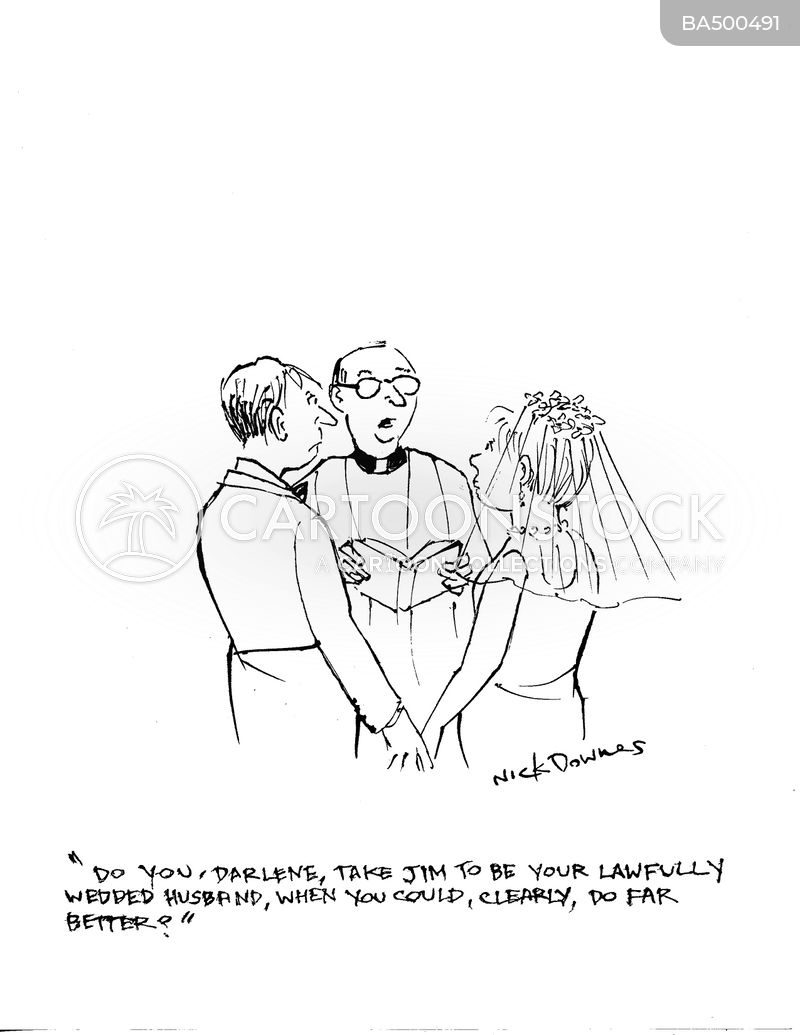 bride cartoon