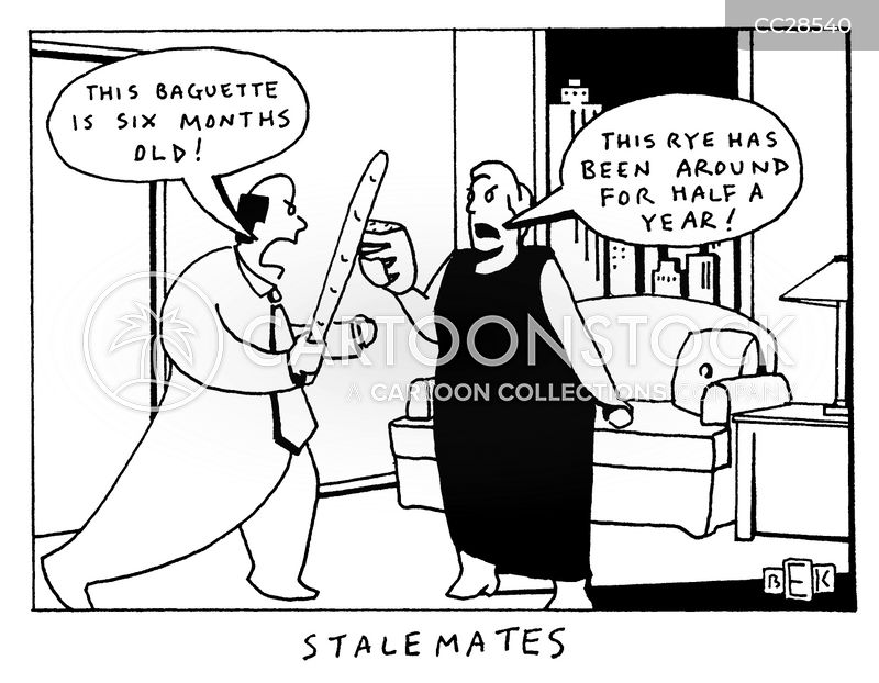 stalemate cartoon