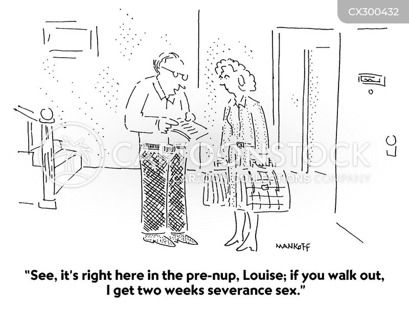 walking out cartoon
