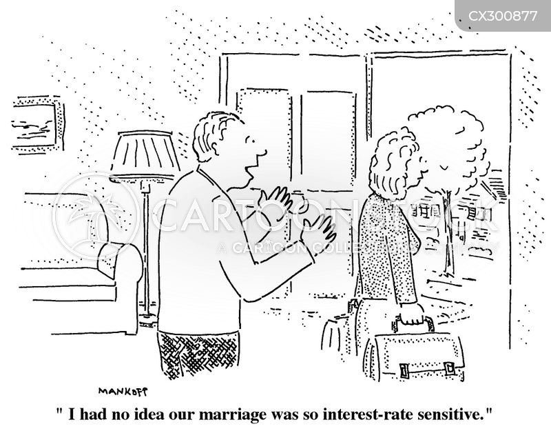 Interest-rate cartoon