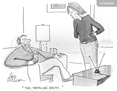 closing argument cartoon