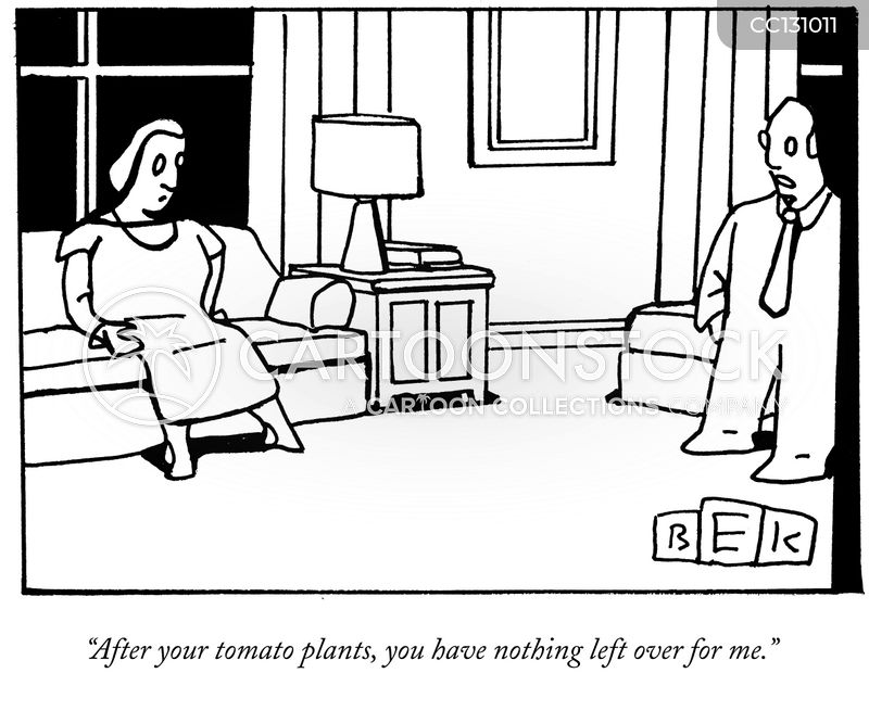 gardener cartoon